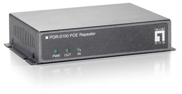 LevelOne® POR-0100 Power-over Ethernet Extender
