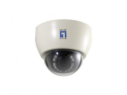 LevelOne® Day/Night H.264 MegaPixel PoE IP Dome Kamera