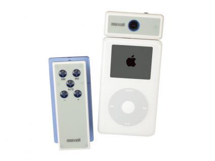 Maxell® Fernbedienung Sender und Empfänger für iPod mit LED Anzeige