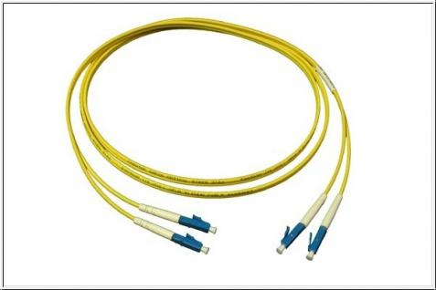 kabelmeister® Patchkabel LWL Duplex OS1 (Singlemode, 9/125) LC/LC, 1m