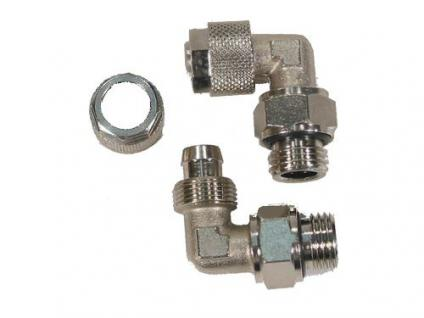 Verschraubung für Wasserkühlungen 1/8' O-Ring auf 8mm gewink