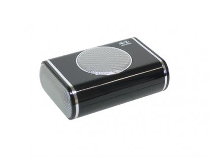 Titan® Portable 2.1 Stereosound Notebook Lautsprecher NB-204, schwarz