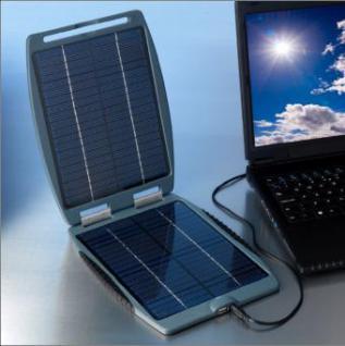Powertraveller SOLARGORILLA, Solarladegerät für Notebook u. Handys