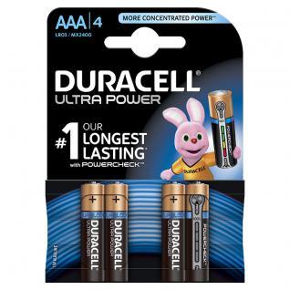 Batterie Alkali Micro (AAA); (Blister), 4er Pack, Duracell®