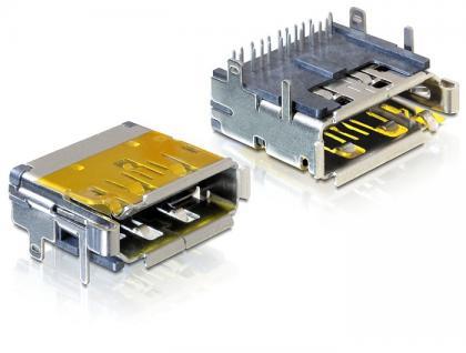 Steckverbinder Dualport Einbaubuchse HDMI + Displayport, Delock® [65286]