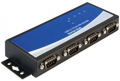 Adapter USB 2.0 zu 4 x Seriell RS-422/485, Delock ® [87587]