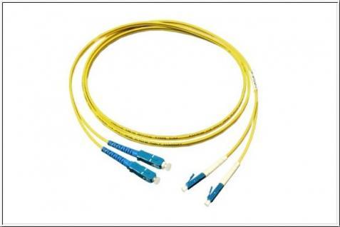 kabelmeister® Patchkabel LWL Duplex OS1 (Singlemode, 9/125) LC/SC, 2m