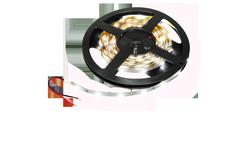 LED-Leiste, 12W, 12V, 600 lm, 3000K, (warmweiß), dimmbar, A, 120____deg; Abstrahlwinkel, hochflexibel, selbstklebende Rückseite