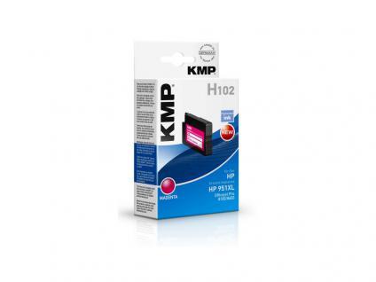 KMP Tintenpatrone ersetzt HP 951XL, für HP OfficeJet Pro 276 dw, magenta