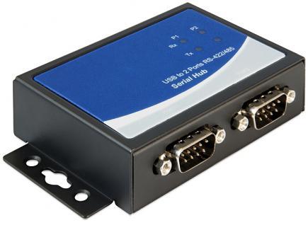 Adapter USB 2.0 zu 2 x Seriell RS-422/485, Delock ® [87586]