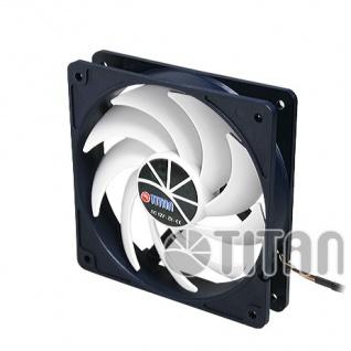 Kukri Lüfter, 90X90X25mm, Titan® [TFD-9225H12ZP/KU(RB)]