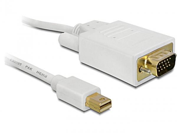 Kabel mini Displayport an VGA 15 pin Stecker, 1m, Delock® [82639]