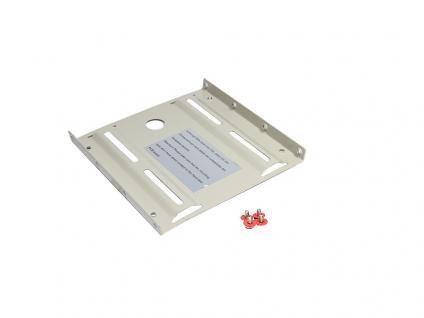 Kabelmeister® 2, 5' auf 3, 5' Festplatten Montage-Set, beige