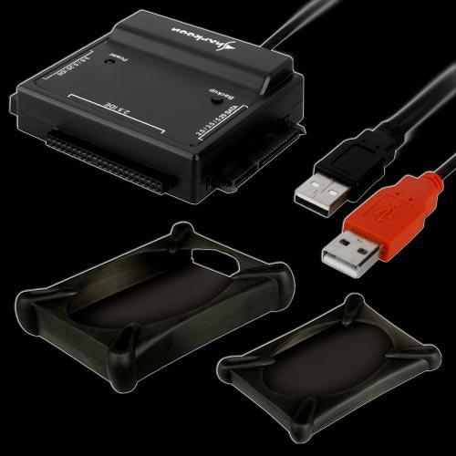 Sharkoon® DriveLink, USB 2.0 an S-ATA und IDE Konverter