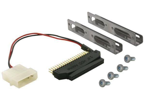 Adapter HDD 2, 5'auf 3, 5' inkl. Haltewinkel, Delock® [61022]