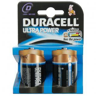 Batterie Alkali Mono (D); (Blister), 2er Pack, Duracell®
