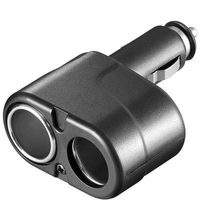 KFZ Doppel-Adapter 2x 12V/24V mini