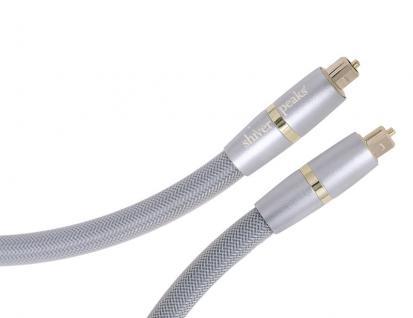 Shiverpeaks® High End Lichtwellenleiterkabel, Toslink Stecker an Toslink Stecker, 2, 5 m