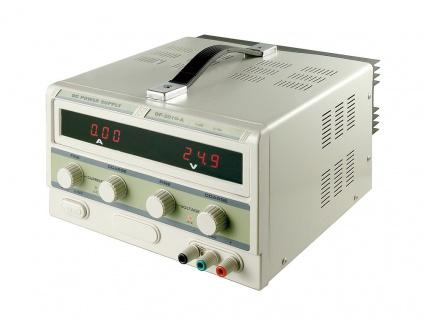 Labornetzgerät, regelbar von 0-10 Ampere und 0-30 V DC