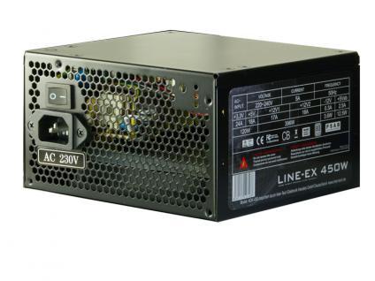 Powerline ATX-Netzteil, Netzwerk über die Steckdose, 450W, 200Mbps, 80PLUS