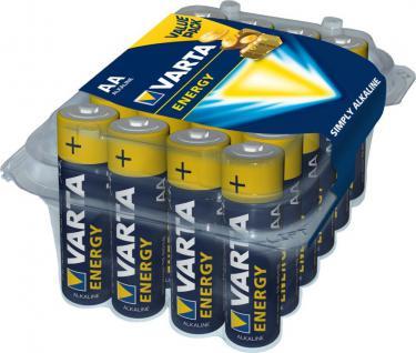 Varta® Batterie, Energy (Alkaline), LR6 (AA), 1, 5V, 24er Box