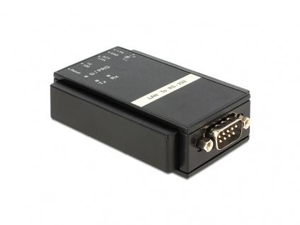Konverter Ethernet LAN an RS232 Sub-D 9 Pin, Delock® [62504]
