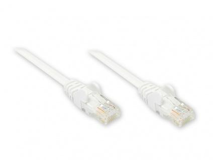 Patchkabel, Cat. 5e, U/UTP, weiß, 0, 25m, Good Connections®