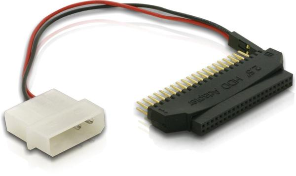 Adapter HDD 2, 5' auf 3, 5', inkl. Stromversorgung, Delock® [61297]