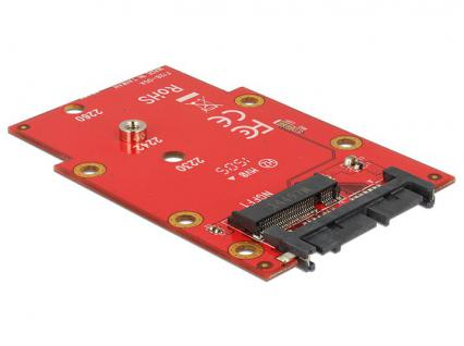 Konverter SATA 22 Pin an M.2 NGFF 1.8', Delock® [62636]