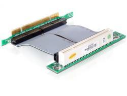 Riser Karte PCI 32 Bit mit flexiblem Kabel, 7 cm links gerichtet, Delock® [41793]