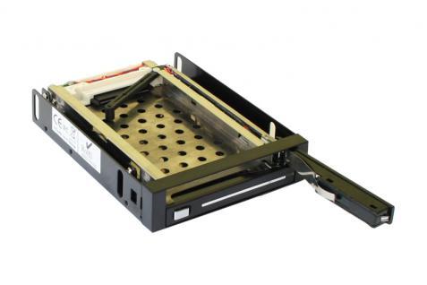 SATA Wechselrahmen für 2 x 2, 5' SATA Festplatten