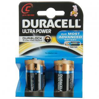 Batterie Alkali Baby (C); (Blister), 2er Pack, Duracell®