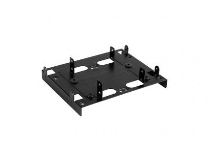 Festplatten-Einbaurahmen, 5.25' BayExtension black, Sharkoon®