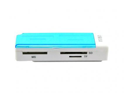 Externes Kartenlesegerät / Cardreader USB 3.0, All in 1