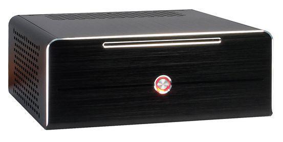 Mini-ITX Gehäuse, 84W Alu, schwarz