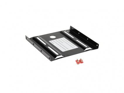 2, 5' auf 3, 5' Festplatten Montage-Set, schwarz