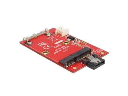 Konverter SATA 7 Pin an mSATA full size, Delock® [62511]