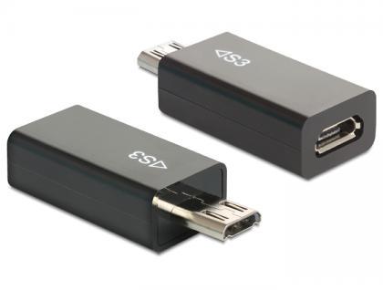 MHL Adapter Samsung 11 Pin Stecker an 5 Pin Buchse, Delock® [65435]