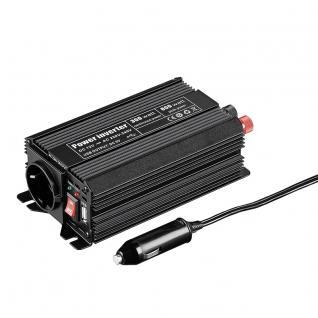 Spannungswandler DC/AC, 12 V auf 230 V, Leistung 300W