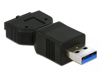 Adapter USB 3.0 Pfostenbuchse an USB 3.0 Typ-A Stecker, Delock® [65671]