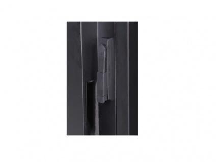 Netzwerkschrank 32 HE 1666x750x1130 mm, RAL 9005, Holzoberfläche Eiche - Metallteile schwarz, Digitus® [DN-19 32U-SO-O]