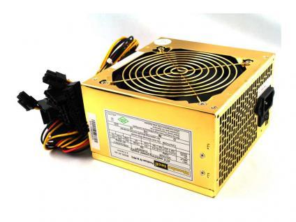 Rhombutech® Super Silent - PFC Netzteil 550W, ATX 2.0, 120mm Lüfter