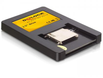Laufwerk 2, 5' SATA an Secure Digital Karte, Delock® [91673]
