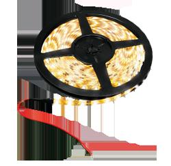 LED-Leiste, 15W, 12V, 1200 lm, 3000 K, (warmweiß), dimmbar, A, 120____deg; Abstrahlwinkel, hochflexibel, selbstklebende Rückseite