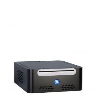 Gehäuse Mini-ITX, ITX Q-5 Black Alu , 60 Watt