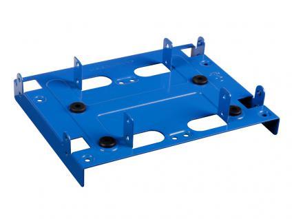 Festplatten-Einbaurahmen, 5.25' BayExtension blue, Sharkoon®