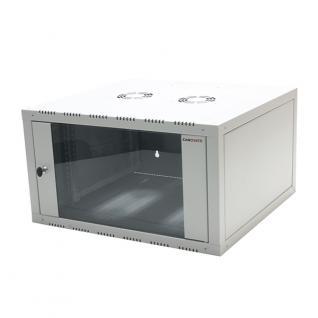 19' Wandgehäuse einteilig 12HE 600X450mm, grau , LogiLink® [W12E64G]