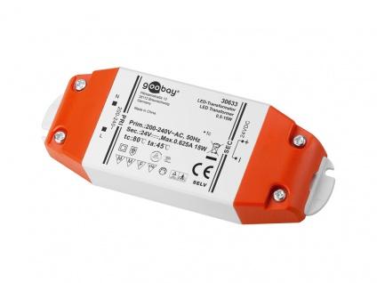 LED Transformator 0, 5-15 Watt, DC-Betrieb