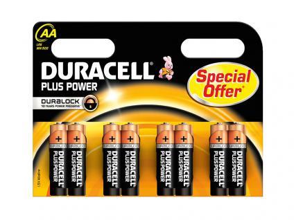 Batterie Alkali Mignon (AA), 1, 5V, 8er Pack im Blister, Duracell®