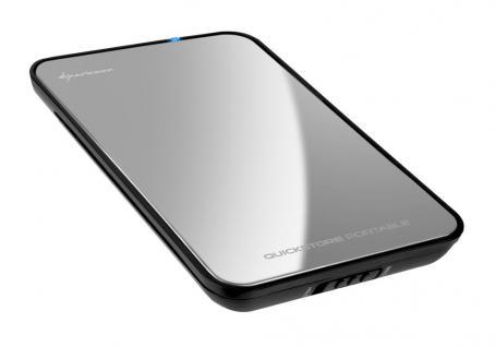 Sharkoon® Quickstore portable USB 3.0 2, 5' mirror